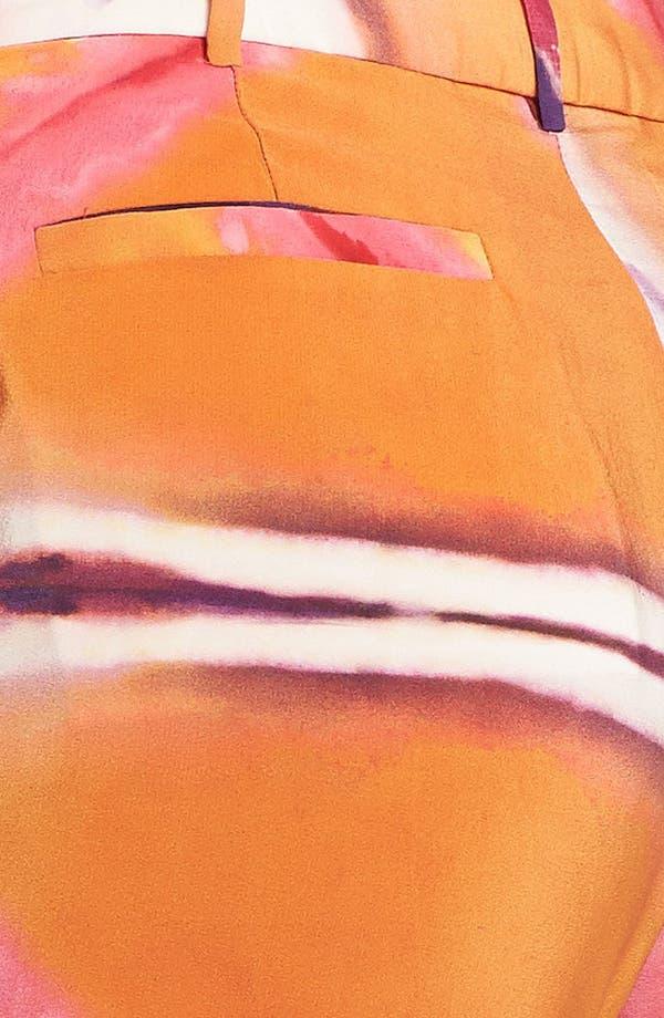 Alternate Image 3  - Rachel Roy 'Painted Illusion' Crop Silk Pants