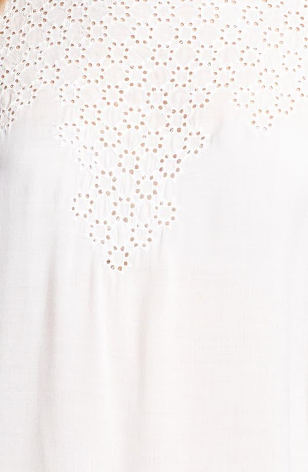 Alternate Image 3  - Matty M Lace Cutout Top