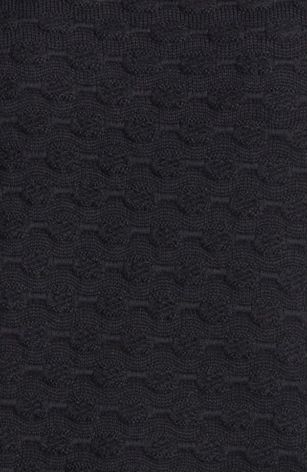 Alternate Image 3  - St. John Yellow Label Scoop Neck Tonal Stripe Shell