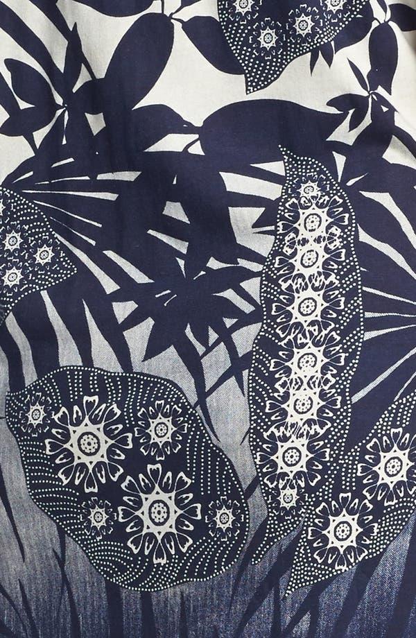 Alternate Image 3  - Lucky Brand 'Chantal' Print Cotton Dress (Plus Size)
