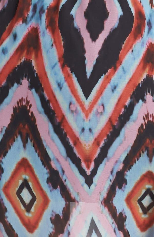 Alternate Image 3  - Olive & Oak Aztec Print Maxi Dress