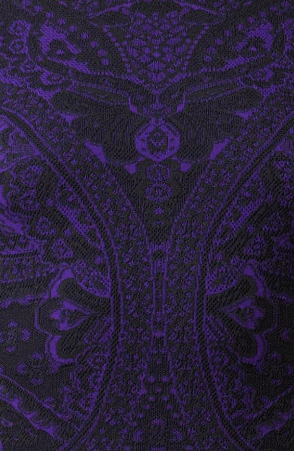 Alternate Image 3  - Alexander McQueen Full Skirt Intarsia Knit Dress