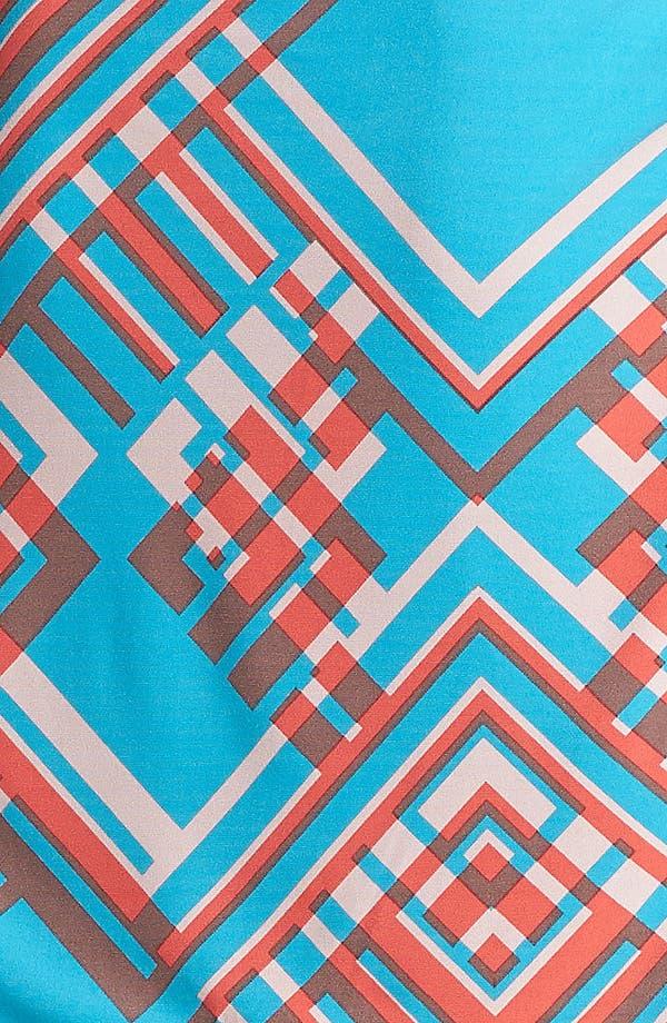 Alternate Image 3  - Jessica Simpson Print Jersey Blouson Dress (Plus Size)