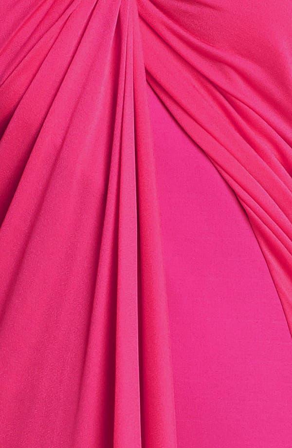 Alternate Image 3  - Halston Heritage One Shoulder Ponte Dress
