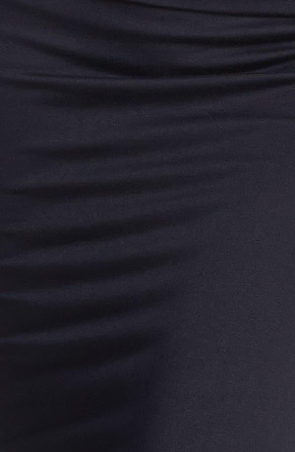 Alternate Image 3  - Frenchi® High Waisted Midi Pencil Skirt (Juniors)