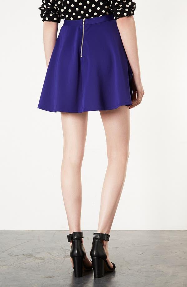 Alternate Image 2  - Topshop Scuba Skater Skirt
