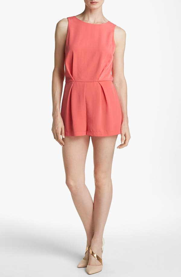 Alternate Image 1 Selected - ASTR Lace Back Romper