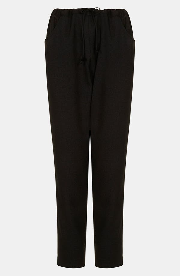 Alternate Image 1 Selected - Topshop Boutique 'Takashi' Drawstring Trousers