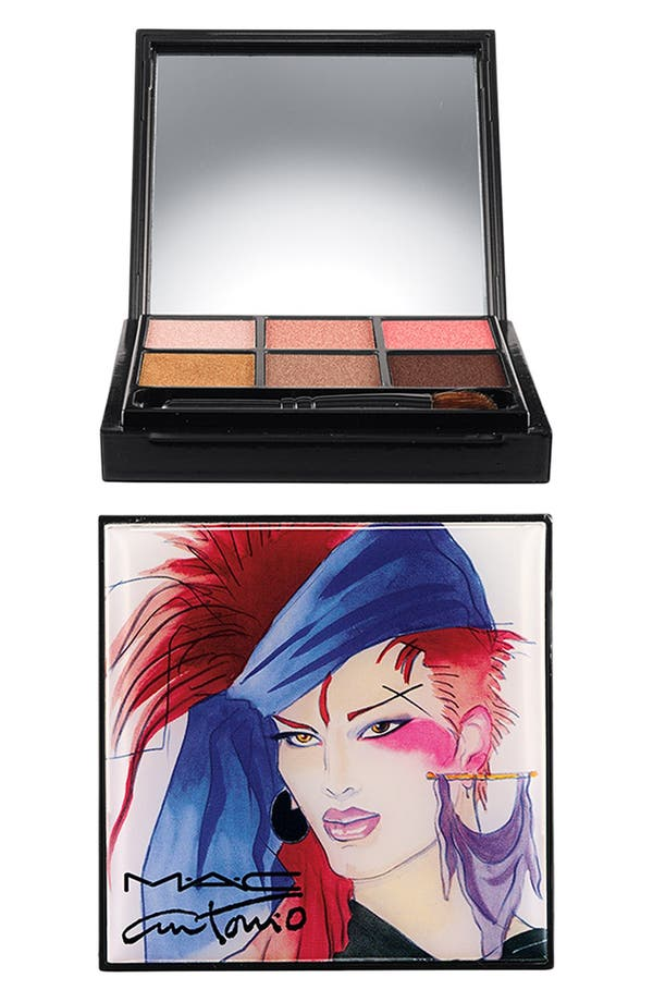 Alternate Image 1 Selected - Antonio Lopez for M·A·C '6 Color - Creative Copper' Eyeshadow Palette (Limited Edition)