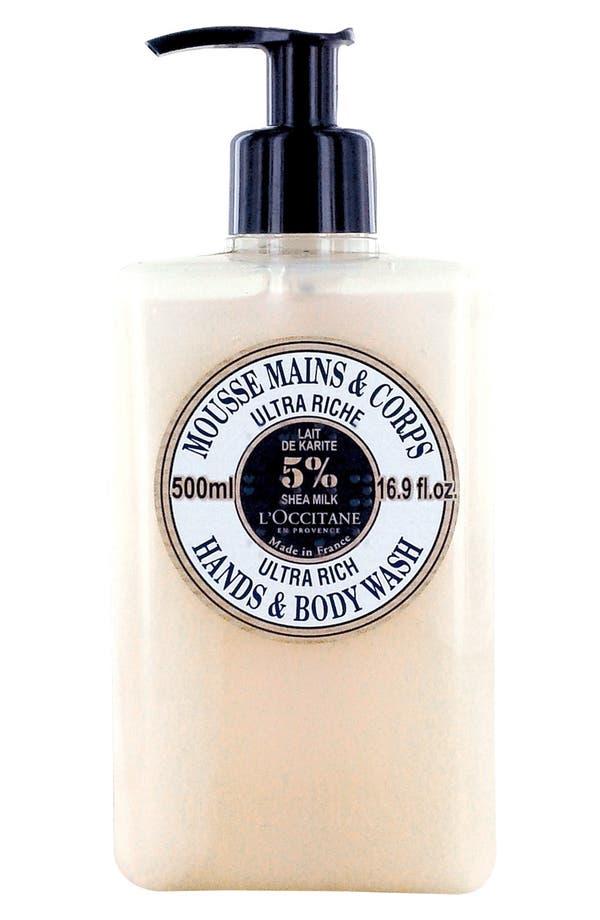 Main Image - L'Occitane Ultra Rich Hand & Body Wash (16.9 oz.) (Limited Edition) ($33 Value)