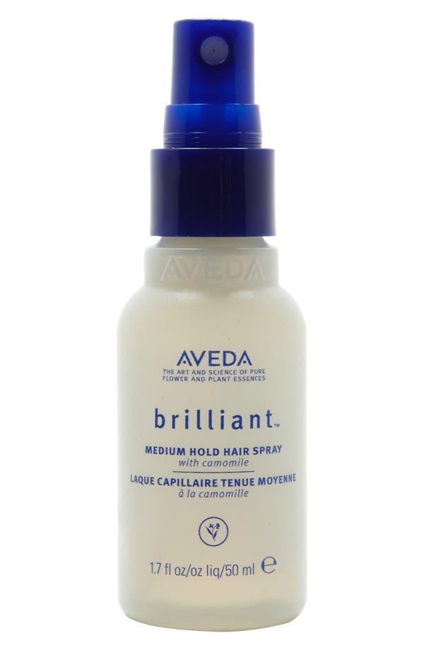 Main Image - Aveda 'brilliant™' Medium Hold Hair Spray (1.7 oz.)