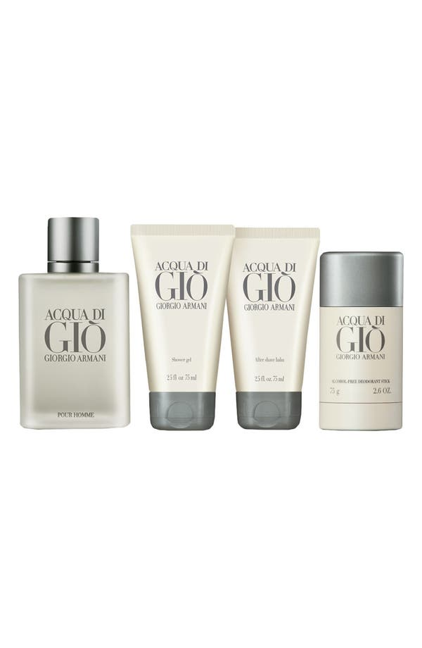 Alternate Image 2  - Acqua di Giò pour Homme Set ($151 Value)