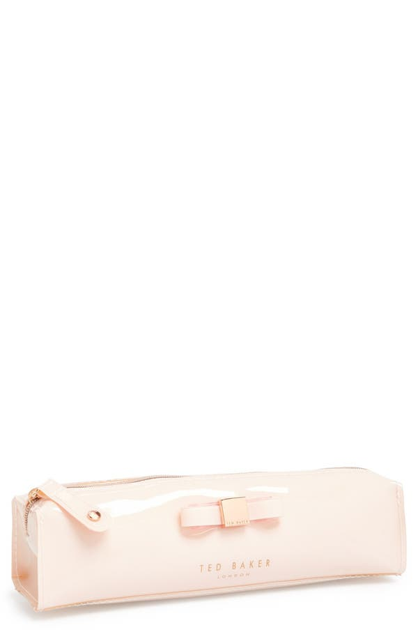 Alternate Image 1 Selected - Ted Baker London 'Bow' Pencil Case