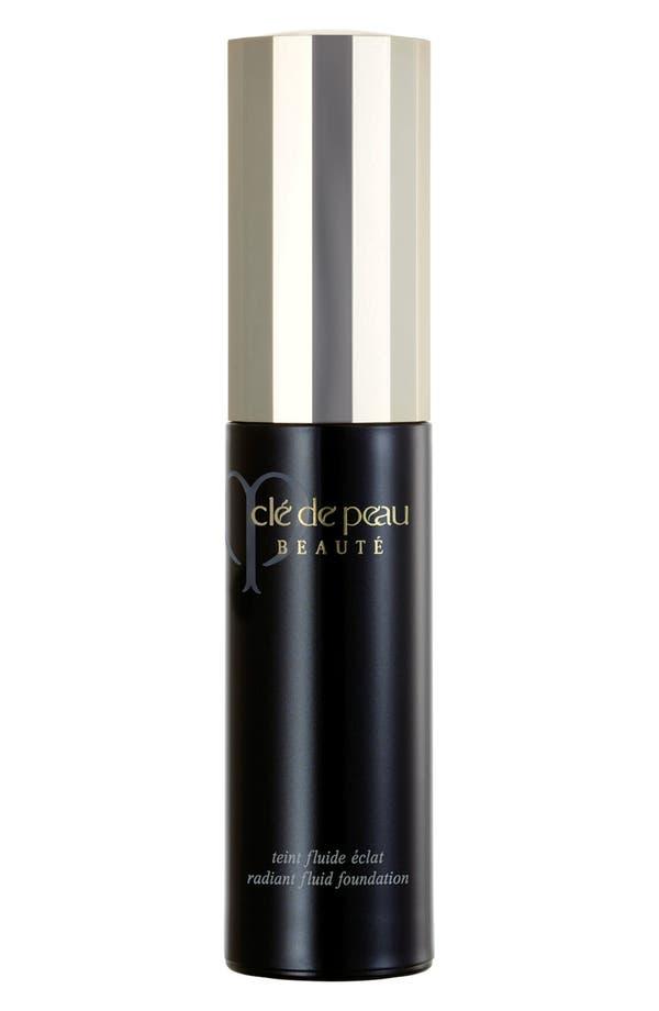Alternate Image 1 Selected - Clé de Peau Beauté Radiant Fluid Foundation SPF 24