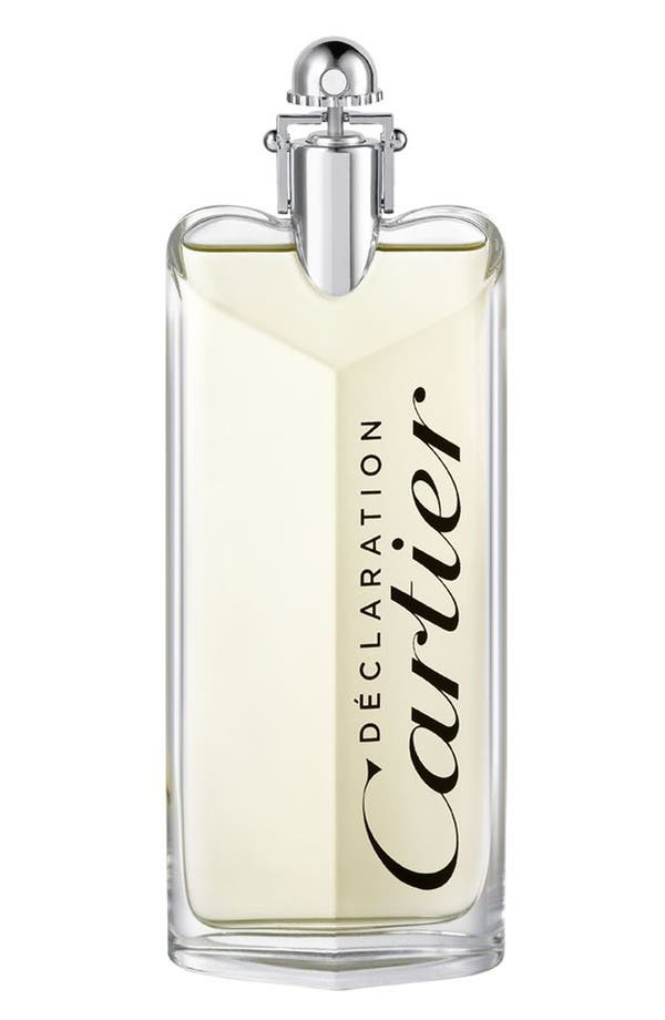 Alternate Image 1 Selected - Cartier 'Déclaration' Eau de Toilette