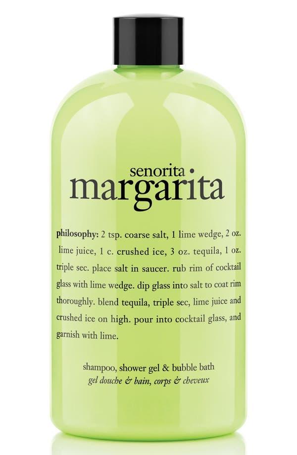 Alternate Image 1 Selected - philosophy 'señorita margarita' shampoo, conditioner & body wash