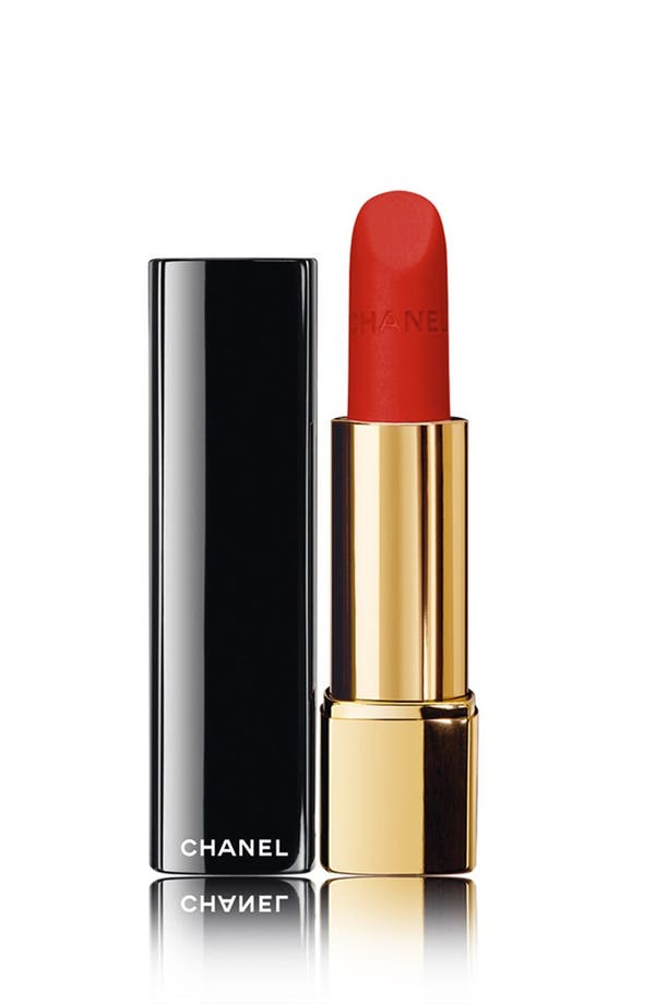 Alternate Image 1 Selected - CHANEL ROUGE ALLURE VELVET 