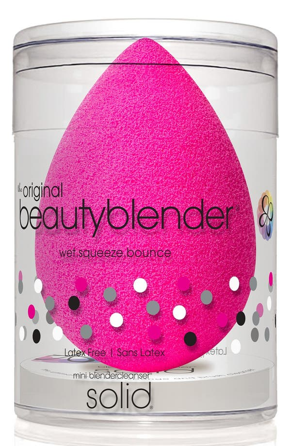 Alternate Image 2  - beautyblender® Original Makeup Sponge Applicator & Cleanser Duo ($28.50 Value)