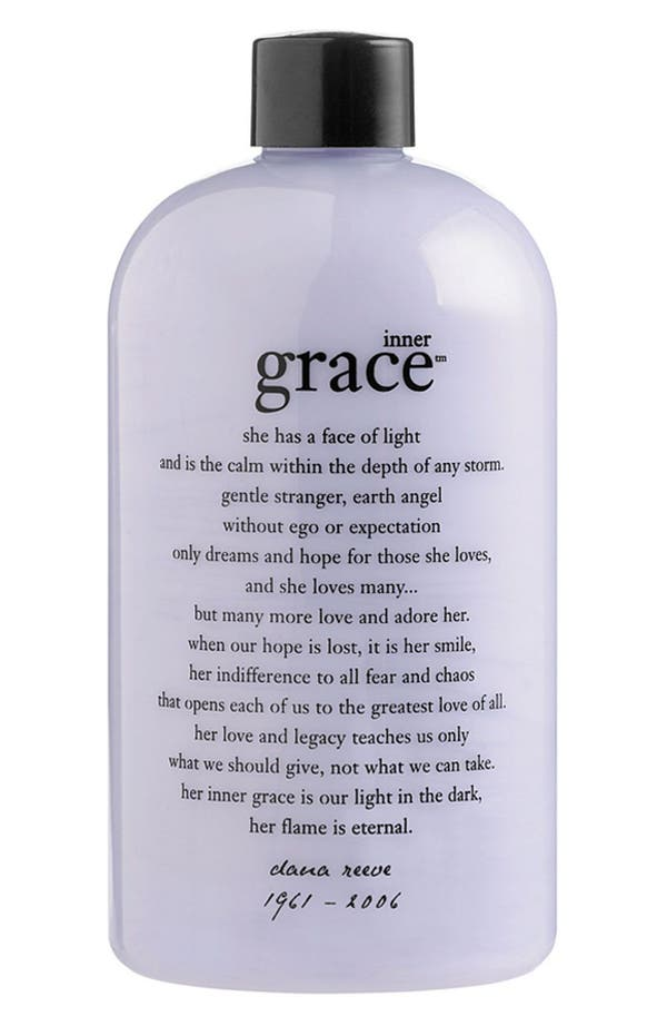 Alternate Image 1 Selected - philosophy 'inner grace' charity shower gel