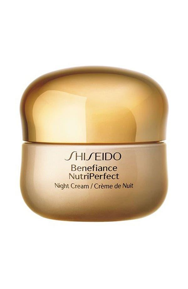 Alternate Image 1 Selected - Shiseido 'Benefiance NutriPerfect' Night Cream