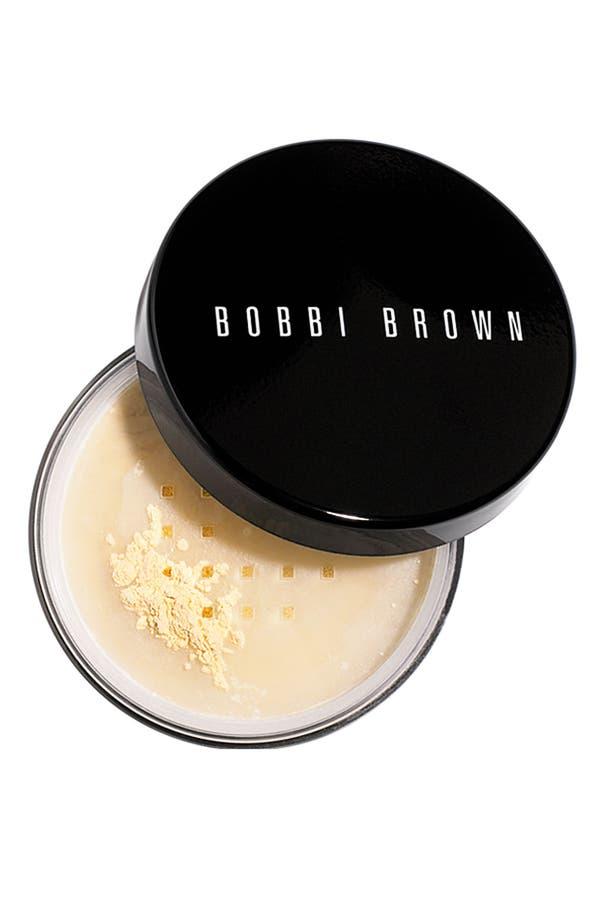 Alternate Image 1 Selected - Bobbi Brown Sheer Finish Loose Powder
