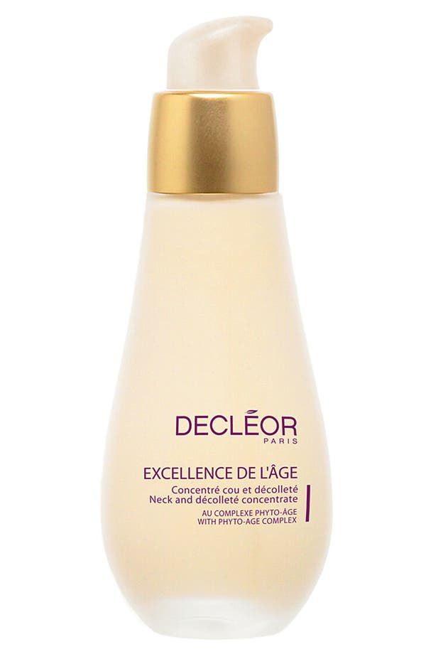 Main Image - Decléor 'Excellence de l'Âge' Neck and Décolleté Concentrate