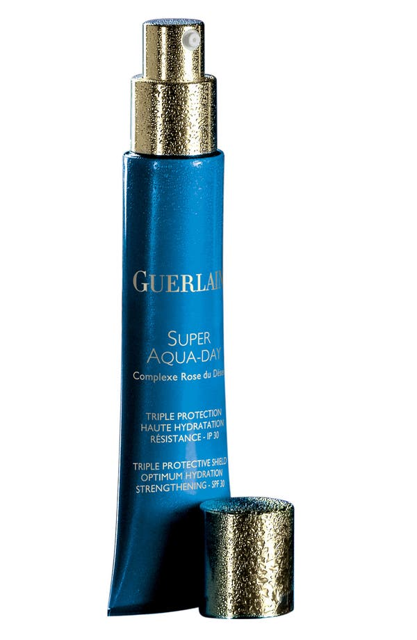 Alternate Image 1 Selected - Guerlain 'Super Aqua-Day' Triple Protection Shield SPF 30
