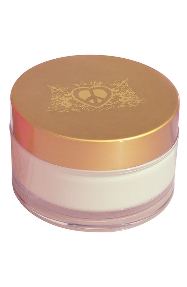 Alternate Image 1 Selected - Juicy Couture 'Peace Love & Juicy Couture' Body Cream