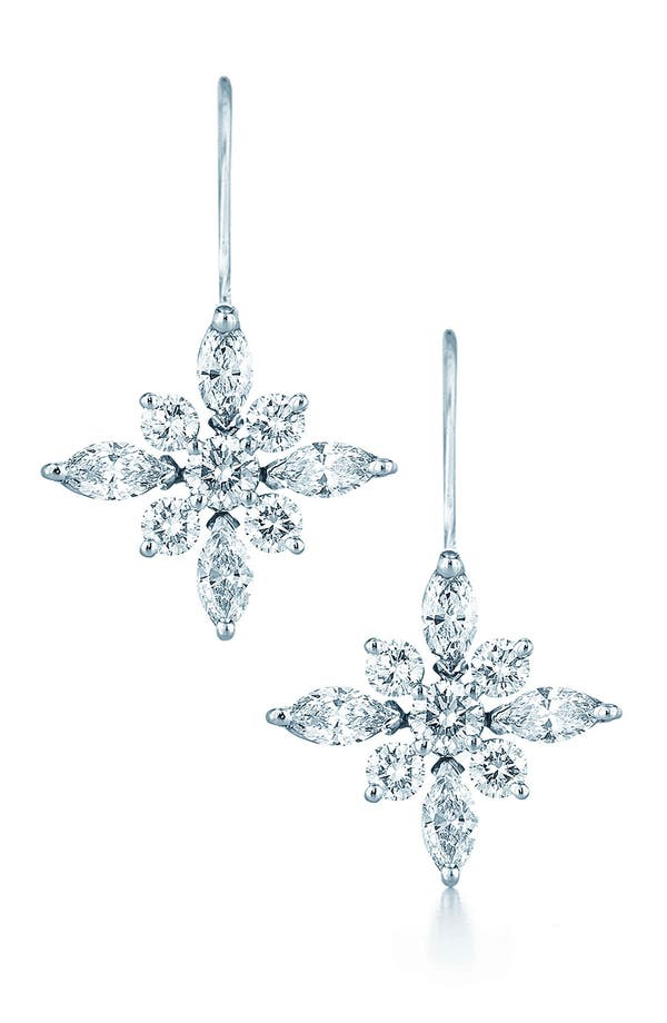 Alternate Image 1 Selected - Kwiat .90ct tw Diamond Star Earrings