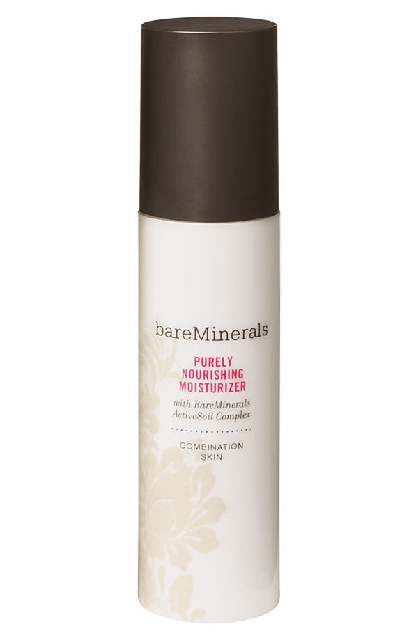 Alternate Image 1 Selected - bareMinerals® Purely Nourishing Moisturizer for Combination Skin (1.7 oz.)