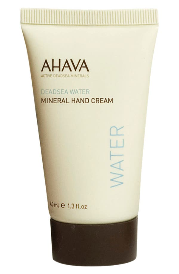 Alternate Image 1 Selected - AHAVA 'Water' Travel Size Mineral Hand Cream