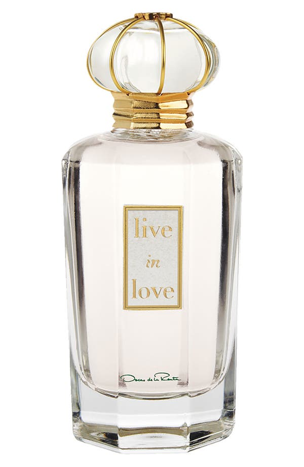 Alternate Image 1 Selected - Oscar de la Renta 'Live in Love' Eau de Parfum