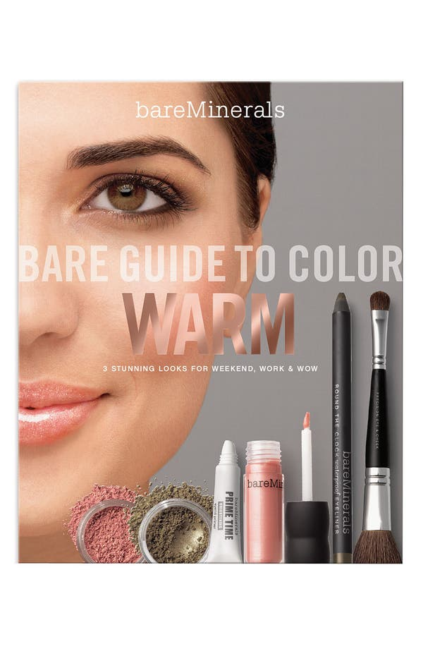 Alternate Image 1 Selected - bareMinerals® 'Bare Guide to Color Warm' Set ($94.50 Value)