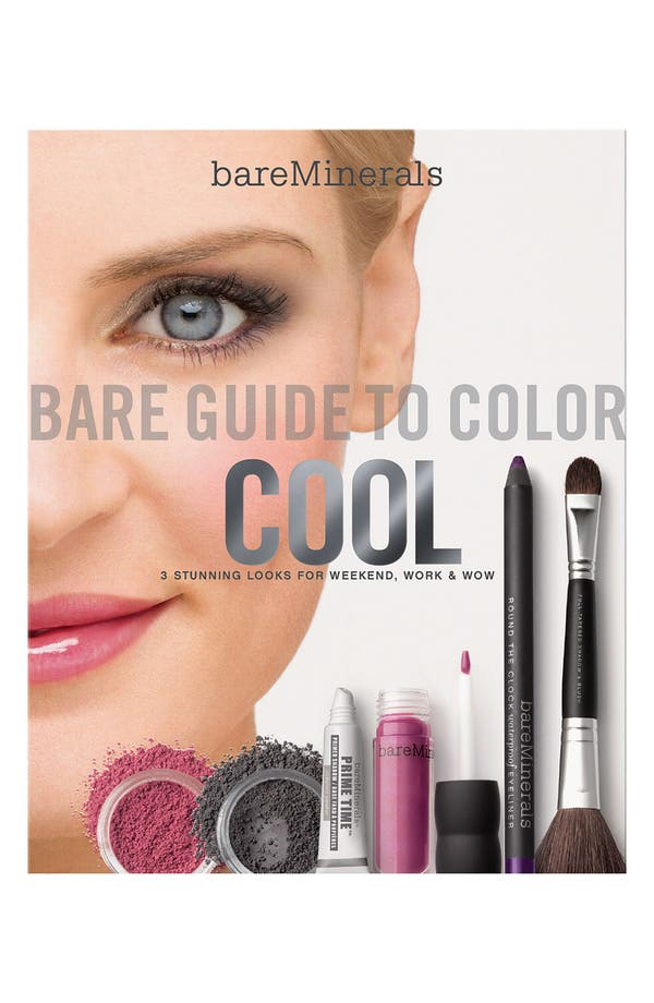 Alternate Image 1 Selected - bareMinerals® 'Bare Guide' Cool Color Kit ($94.50 Value)