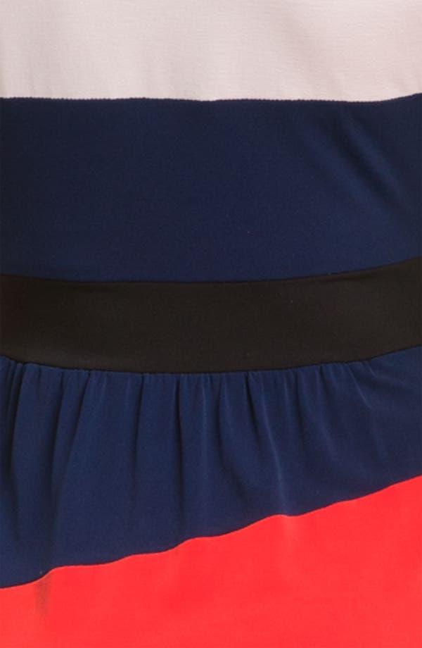 Alternate Image 3  - Donna Morgan Colorblock Jersey Sheath Dress