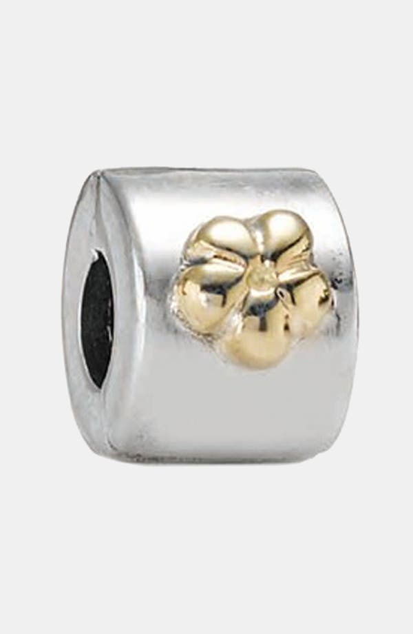 Alternate Image 1 Selected - PANDORA Flower Clip Charm