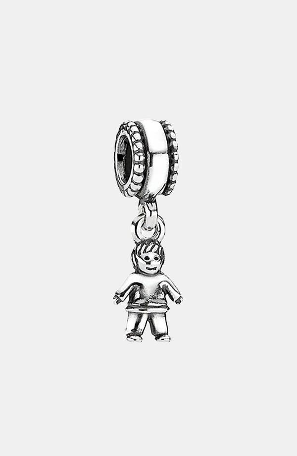 Alternate Image 1 Selected - PANDORA 'Boy' Dangle Charm