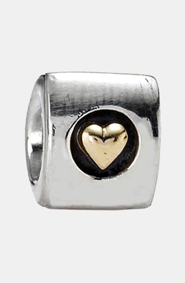 Alternate Image 1 Selected - PANDORA 'Heart of Gold' Charm