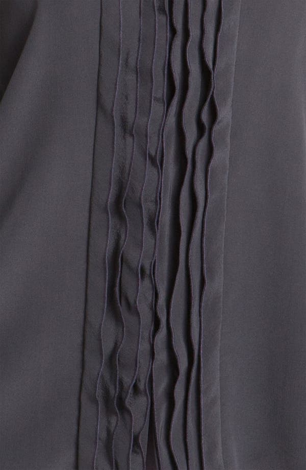 Alternate Image 3  - Classiques Entier® 'Novita' Ruffle Silk Blouse