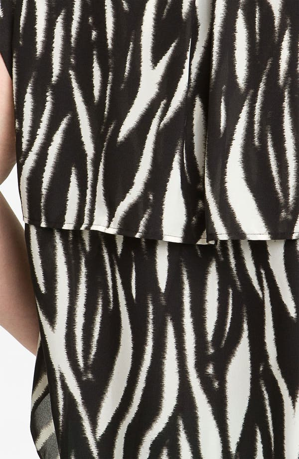 Alternate Image 3  - Vince Camuto 'Ikat Tiger' Blouse (Plus)