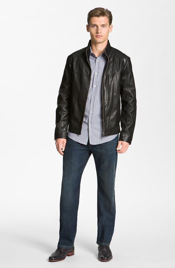 Alternate Image 4  - BOSS Black 'Adillon' Leather Jacket