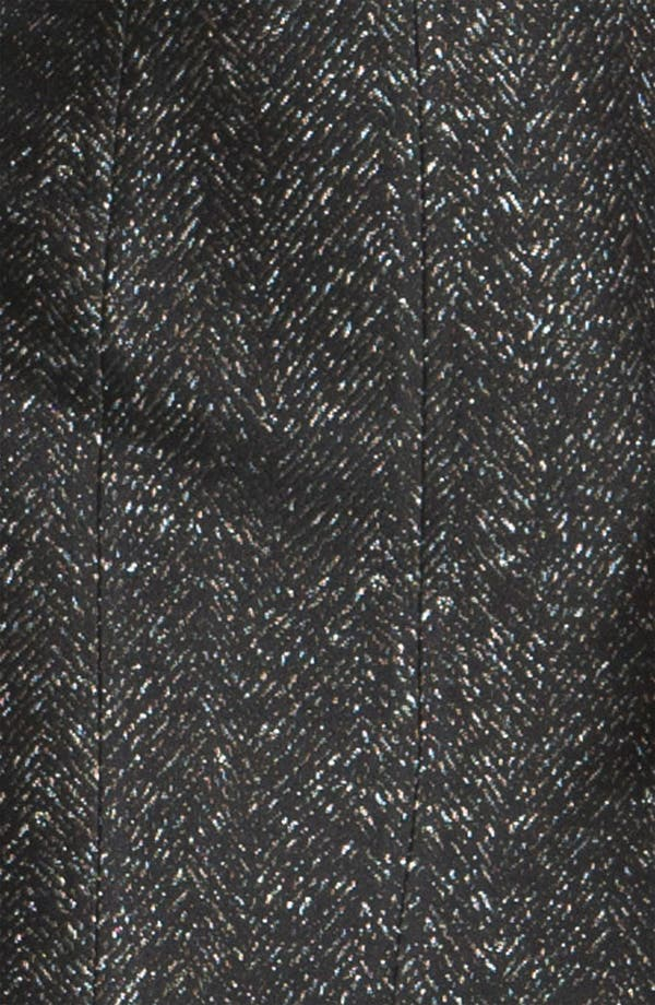 Alternate Image 4  - St. John Collection Chevron Jacquard Dress