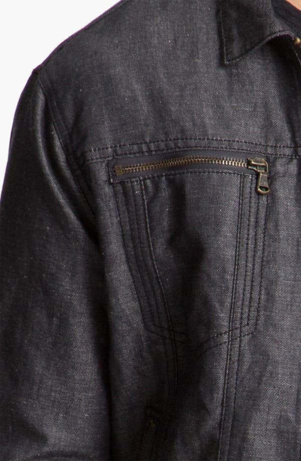 Alternate Image 3  - John Varvatos Star USA Cotton & Linen Jean Jacket