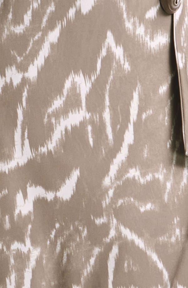 Alternate Image 3  - Alex & Ava Cap Sleeve Jersey Wrap Dress