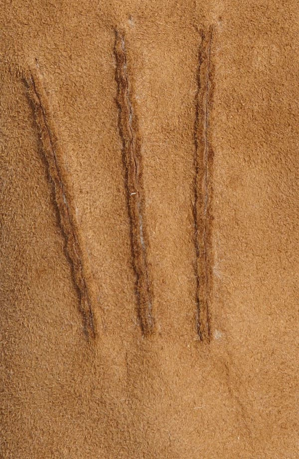 Alternate Image 2  - UGG® Australia Genuine Shearling Gloves