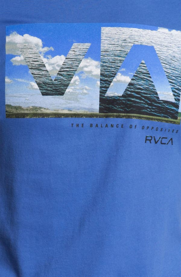 Alternate Image 3  - RVCA 'A to B' Graphic T-Shirt