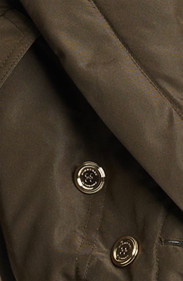 Alternate Image 3  - Burberry Prorsum Mulberry Silk Crop Puffer Jacket