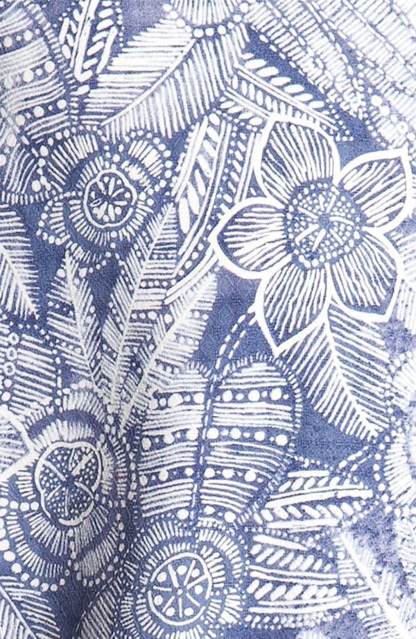 Alternate Image 3  - Tommy Bahama 'Bou-Teak Floral' Silk Campshirt