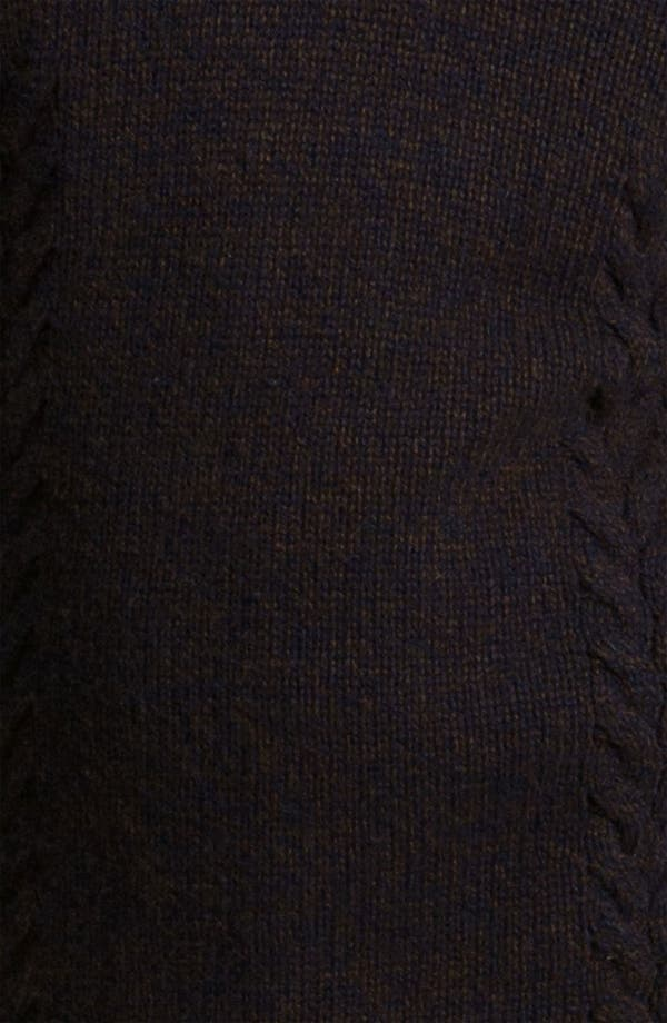 Alternate Image 3  - PLECTRUM by Ben Sherman Cable Knit Shawl Collar Sweater