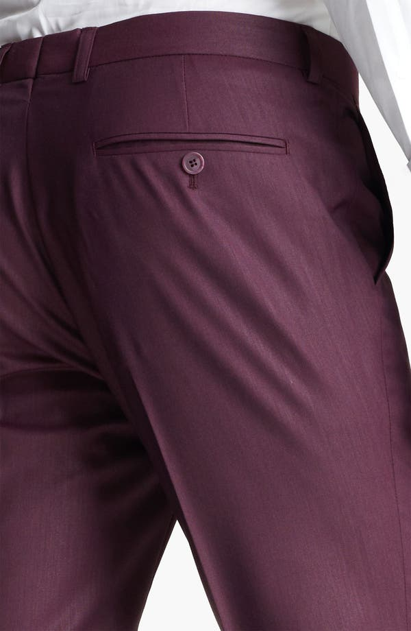 Alternate Image 3  - Topman 'Liquid' Skinny Trousers